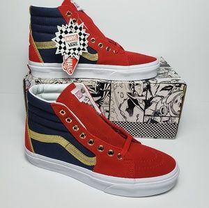 Vans SK8-Hi Marvel Captain Marvel High Top Shoes